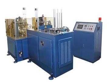 Китай Машина продукции бумажного стаканчика SSM-1100K 5kw устранимая, машинное оборудование втулки бумажного стаканчика дистрибьютор